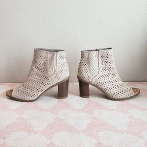 Dr Scholl's 'Peyton' Perforated Microsuede Booties
